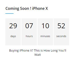 3. Countdown Widget