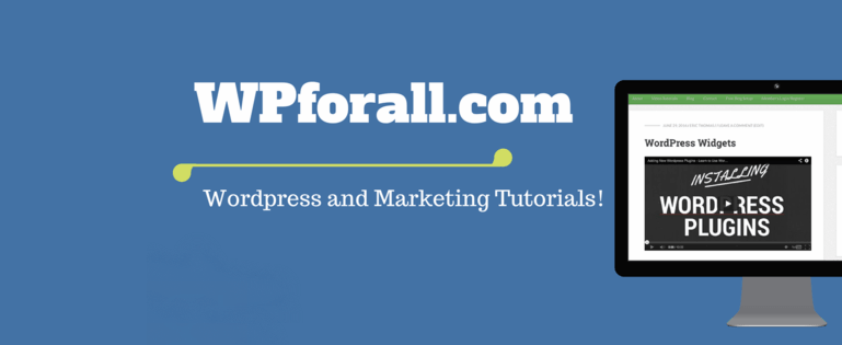 WordPress Tutorial WPforAll