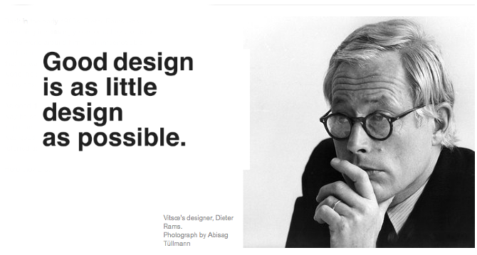 Dieter Rams Design Principles